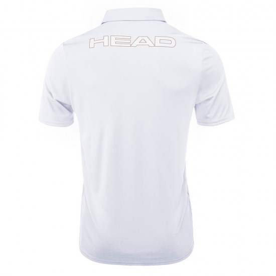 Head Basic Tech Polo M - White