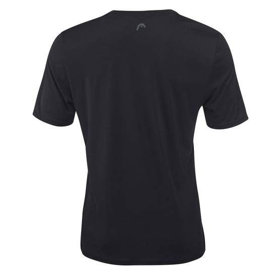 Head Basic Tech T-Shirt M - Black