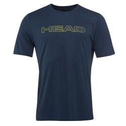 Head Basic Tech T-Shirt M - Navy
