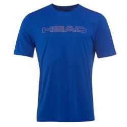 Head Basic Tech T-Shirt M - Royal