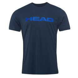 Head Ivan T-Shirt M - Navy & Royal