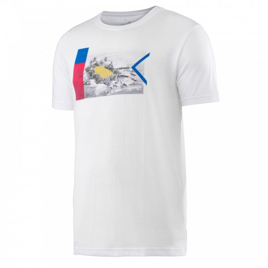 Head Transition M DC1 Graphic T-Shirt - White