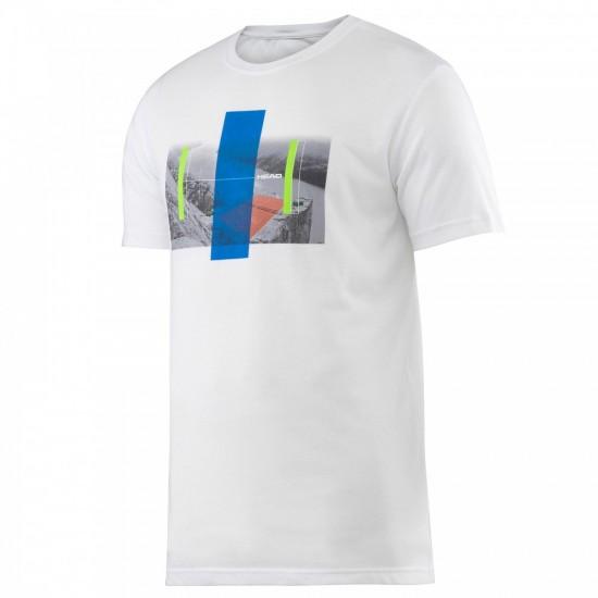 Head Transition M DC-2 Graphic T-Shirt-White
