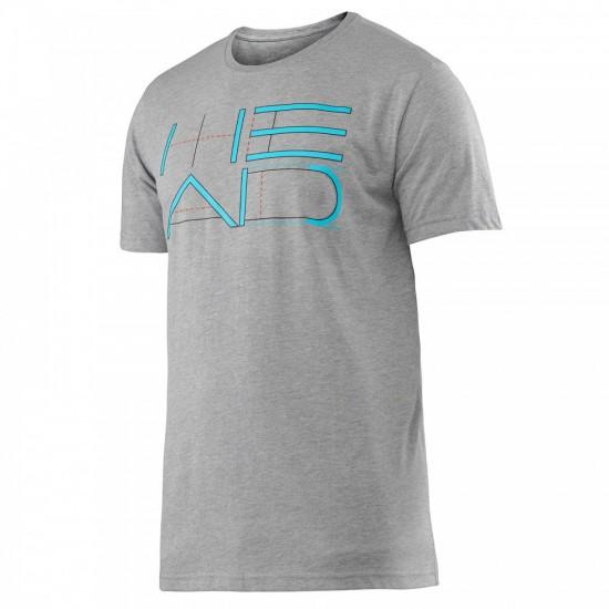Head Transition M Duke Graphic T-Shirt - Gray Heather