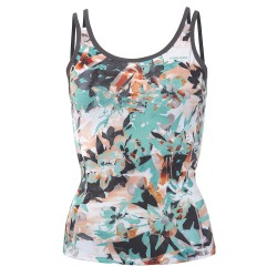 Head Vision Graphic Strap Tank W - Turquoise & Anthracite