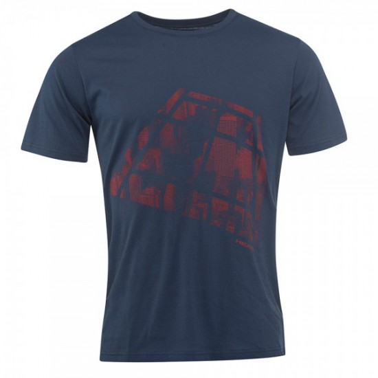 Head Addison T-Shirt M - Dark Blue