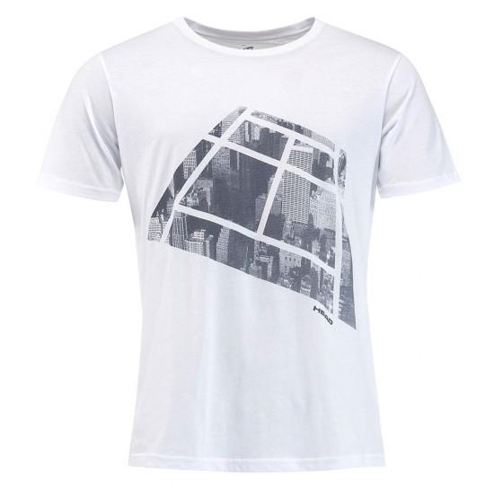 Head Addison T-Shirt M - White