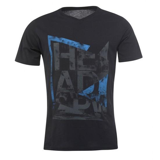 Head Alcott V-Shirt M - Black