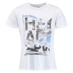 Head Alcott V-Shirt M - White
