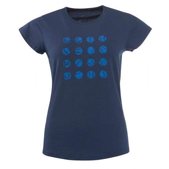 Head Antonia T Shirt W - Dark Blue