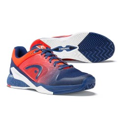 Head Revolt Pro 2.5 Blue & Orange Tennis Shoes