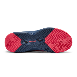 Head Revolt Pro 3.0 Tennis Shoes-Red & Dark Blue