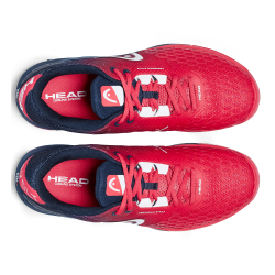 Head Revolt Pro 3.0 Clay Tennis Shoes-Red & Dark Blue (only UK-8.5)