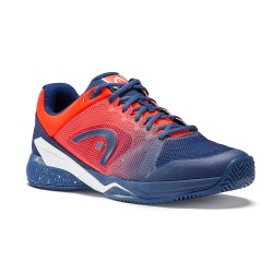Head Revolt Pro 2.5 Clay Blue & Orange Tennis Shoes