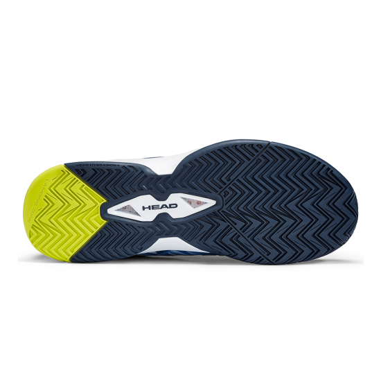 Head Revolt Pro 3.0 Tennis Shoes-Dark Blue & Yellow