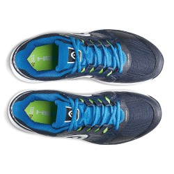 Head NZZZO Pro Navy & Ocean Blue Tennis Shoes