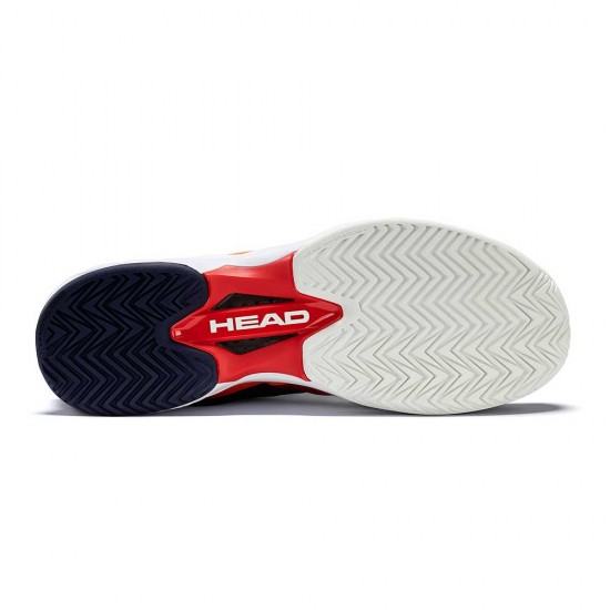Head Sprint Pro 2.0 Red & Blue Tennis Shoes