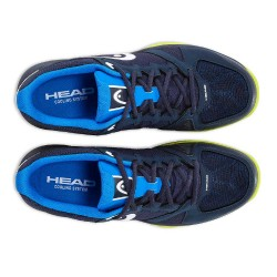 Head Revolt Team 2.5 Blue & Green Tennis Shoes