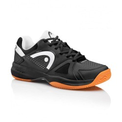 Head Grid 2.0 Black/White Indoor Court Shoes