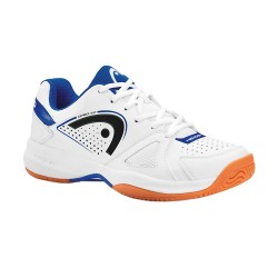 Head Grid 2.0 White/Navy Indoor Court Shoes