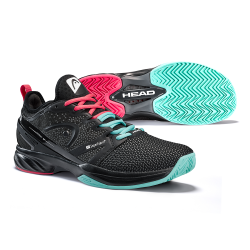 Head Sprint SF Tennis Shoes-Black & Teal