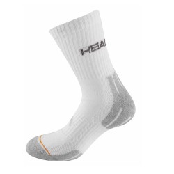 Head Tennis Performance Socks-3 Pack (White&Grey)