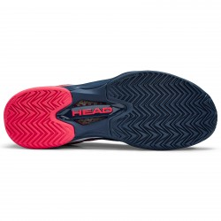 Head Mens Sprint Pro 2.5 Clay Tennis Shoes - Dark Blue/Neon Red (only UK-8.5)