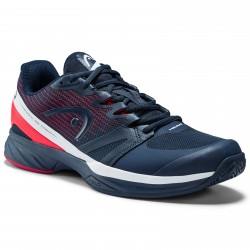 Head Mens Sprint Pro 2.5 Tennis Shoes - Dark Blue/Neon Red