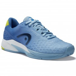 Head Revolt Pro 3.0 Women's Tennis Shoes. Light Blue / Yellow