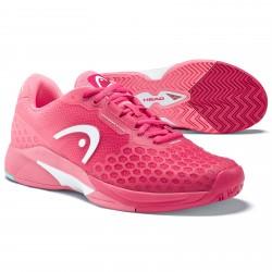 Head Women's Revolt Pro 3.0 Tennis Shoes Magenta and Pink