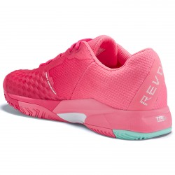 Head Women's Revolt Pro 3.0 Tennis Shoes Magenta and Pink
