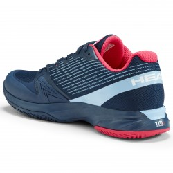 Head Women's Sprint Pro 2.5 Tennis Shoes. Blue/Magenta