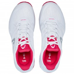 Head Women's Sprint Pro 2.5 Tennis Shoes White and Pink (only UK-6)