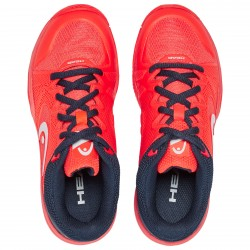 HEAD JUNIOR REVOLT PRO 2.5 ALL COURT FLUO RED/NAVY