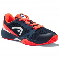 HEAD SPRINT 2.5 JUNIOR TENNIS SHOE.  DARK BLUE