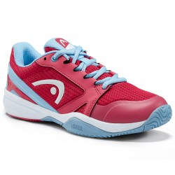 HEAD Sprint Pro 2.5 Junior Tennis Shoe. Magenta/Light Blue