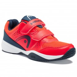 Head Sprint Velcro 2.5 Red/Dark Blue Kids Shoes
