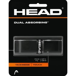 Head Dual Absorbing Grip-Black