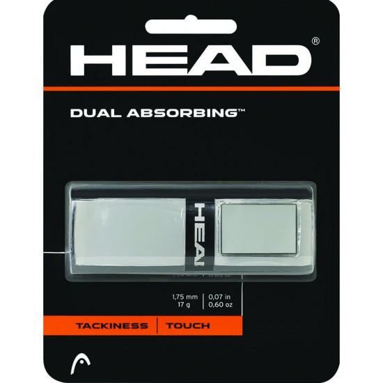 Head Dual Absorbing Grip-Gray