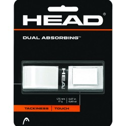 Head Dual Absorbing Grip-White