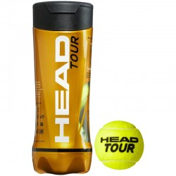 Head ATP Tennis Balls (4 Balls Pack)