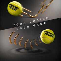 Head TOUR Tennis Balls (3 Balls Pack)