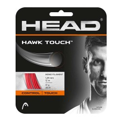 Head Hawk Touch 17g Tennis String - Red