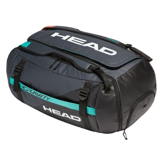 Head Gravity Duffle Bag-Black & Teal