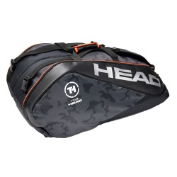 TEAM HEAD-Tour Team 12R Monstercombi Limited Edition-Black & Silver