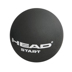 Head Start Squash Ball Single Dot-White