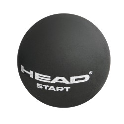 Head Start Squash Ball Single Dot-White (3 Ball Tube)