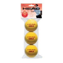 Head T.I.P Tennis Training Balls (3 Pack) - Red