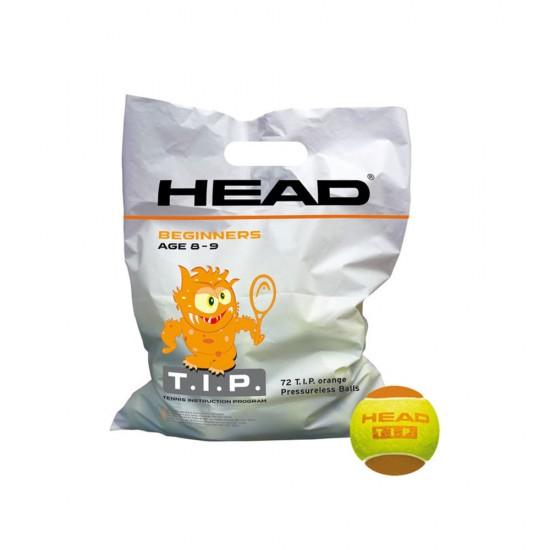 Head T.I.P Tennis Training Balls (72 Pack) - Orange