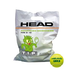 Head T.I.P Tennis Training Balls (72 Pack) - Green